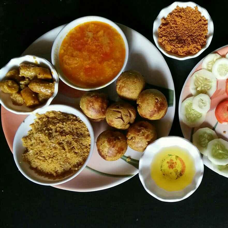 How to make Dal bati in appe pan