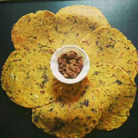 How to make Gobhi ki roti( gobhi ka paratha)