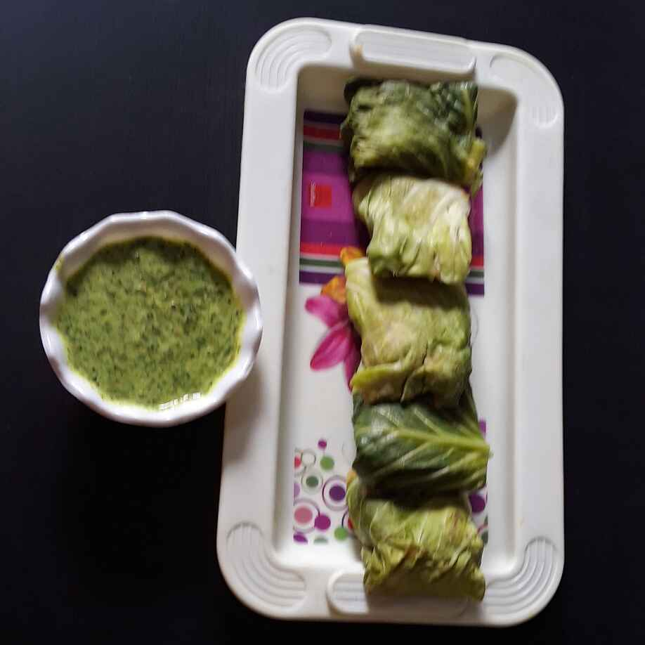 How to make Gobhi roll