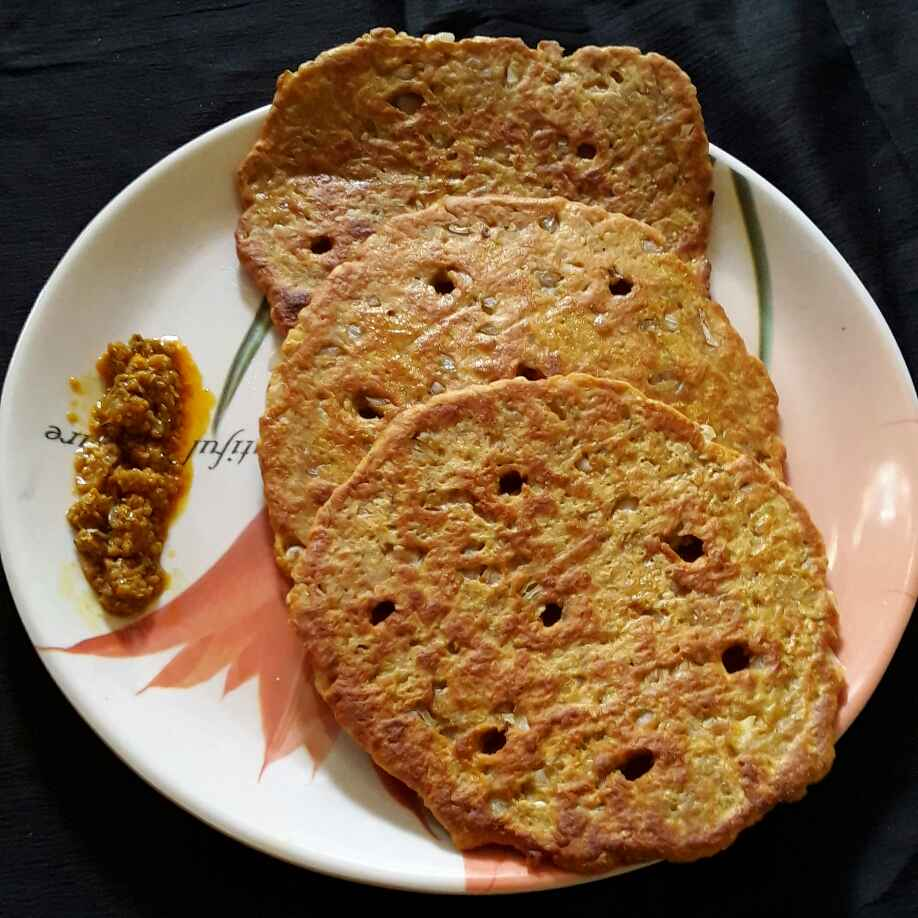Photo of Bajani che thalipith by Rohini Rathi at BetterButter