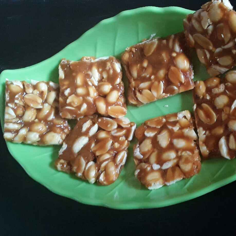 Photo of Mungfali ki chikki by Rohini Rathi at BetterButter