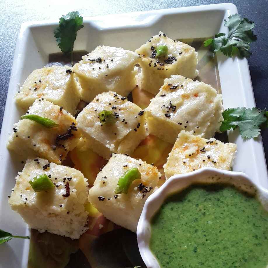 Photo of Rice flour dhokla by Rohini Rathi at BetterButter