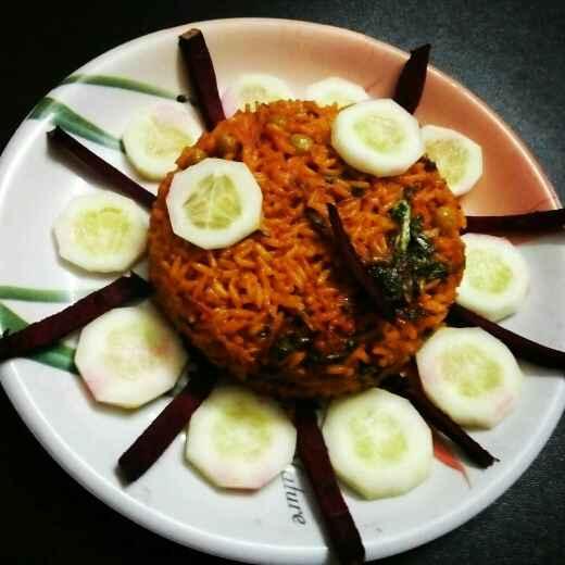 How to make बीट पुलाव