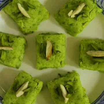 How to make Matar ki barfi