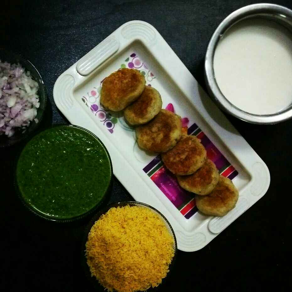 Photo of Aalu tikki by Rohini Rathi at BetterButter