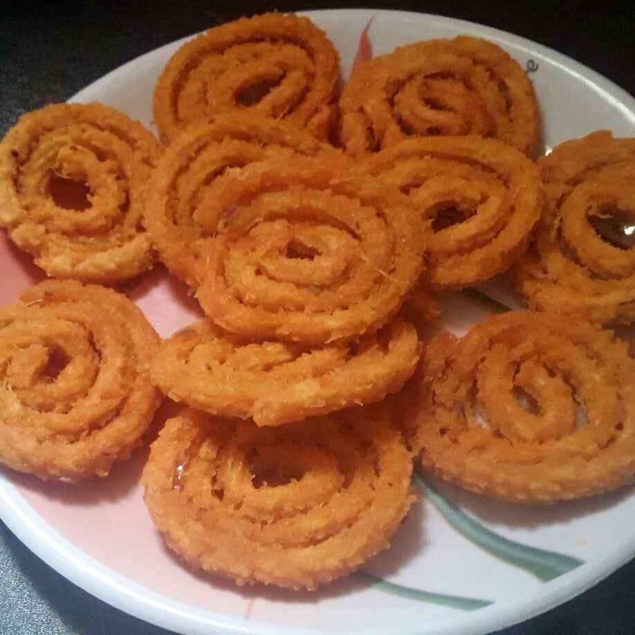 How to make Sweet potato chakli