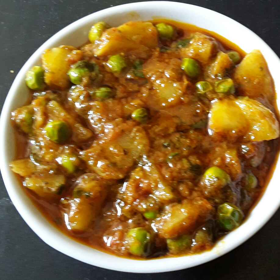 Photo of Aalu matar ki sabji by Rohini Rathi at BetterButter
