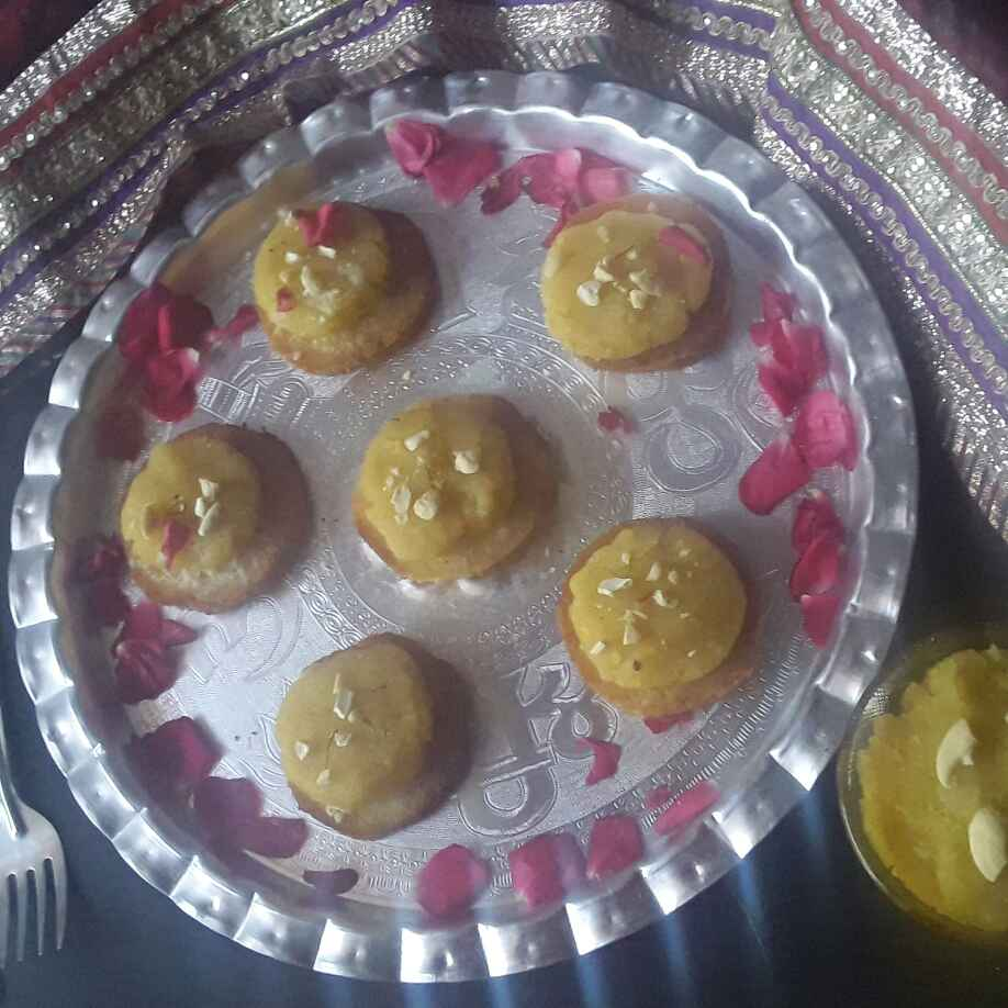 Photo of Moong dal shahi tukra canapes by Rohini Rathi at BetterButter