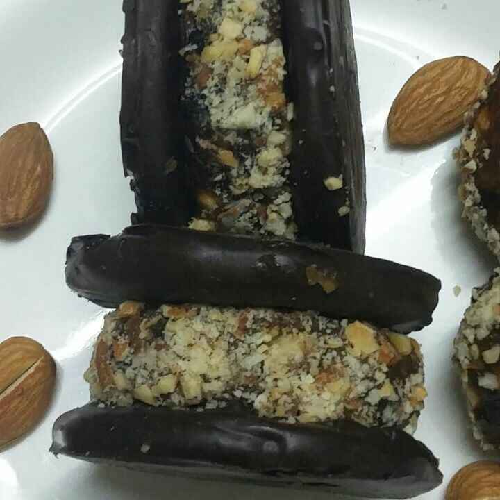 Photo of Biscuit chocolate energy bar sandwhich by Rohini Rathi at BetterButter
