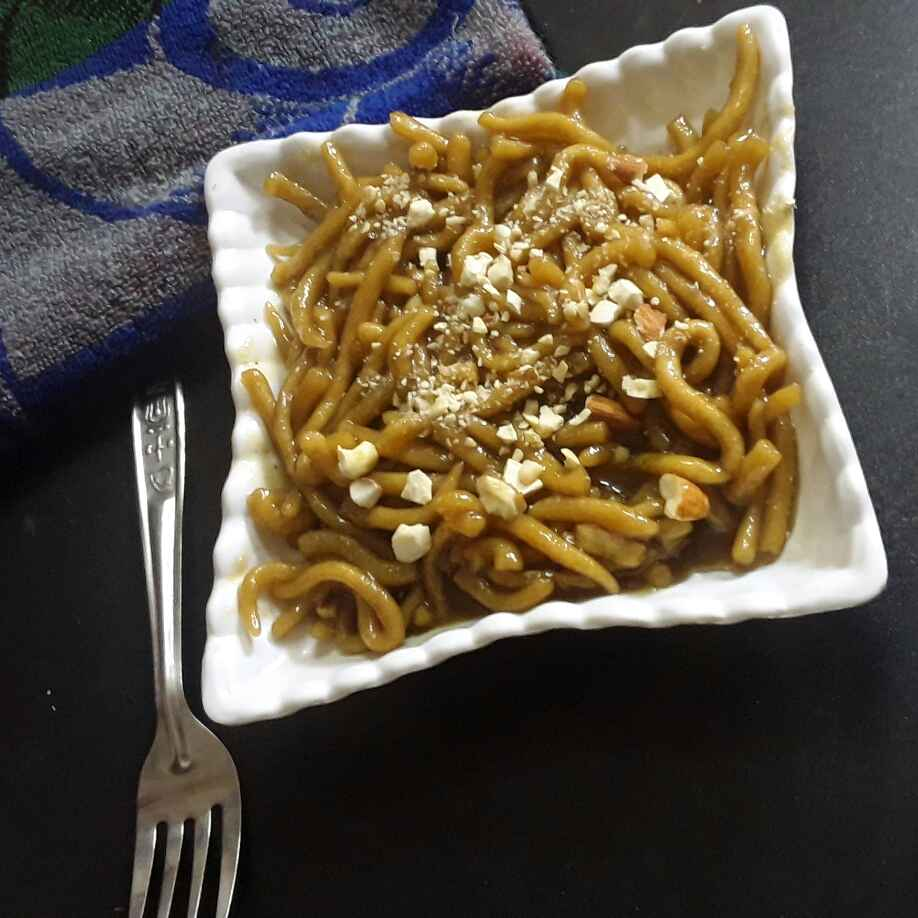 Photo of Wheat flour sweet noodles by Rohini Rathi at BetterButter