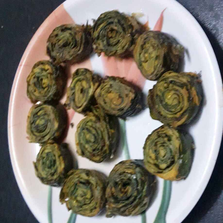 How to make अळू वडी