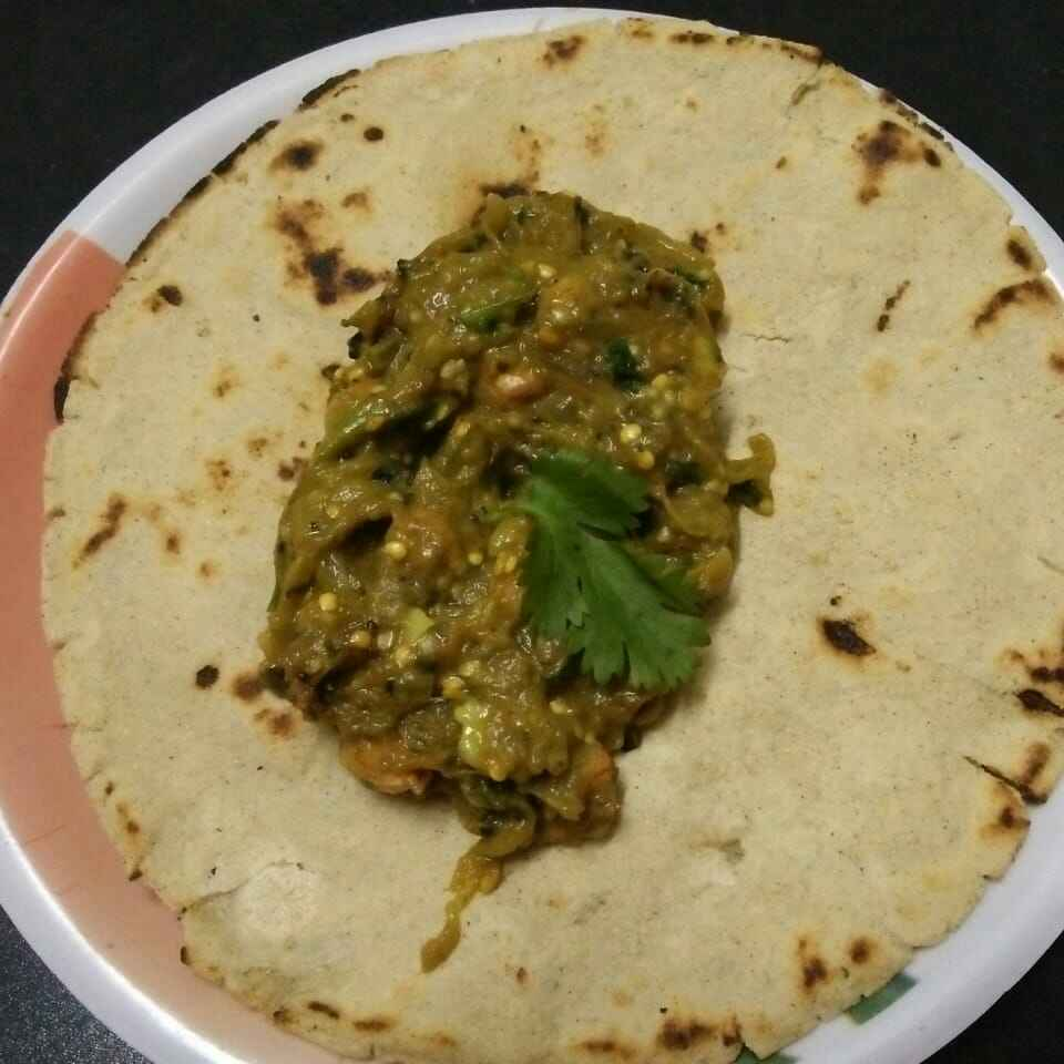 Photo of Vangache barit ani jawari chi bhakri by Rohini Rathi at BetterButter