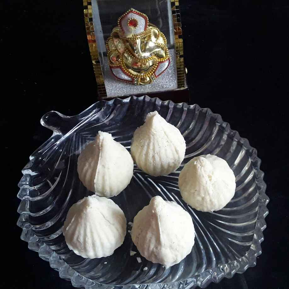 Photo of Rice flour modak by Rohini Rathi at BetterButter