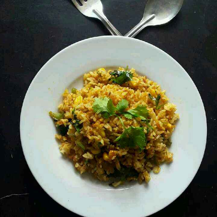 Photo of Leftover rice tava pulav by Rohini Rathi at BetterButter