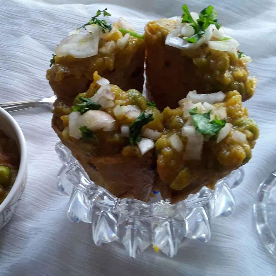 Photo of Pavbhaji chapati cone by Rohini Rathi at BetterButter