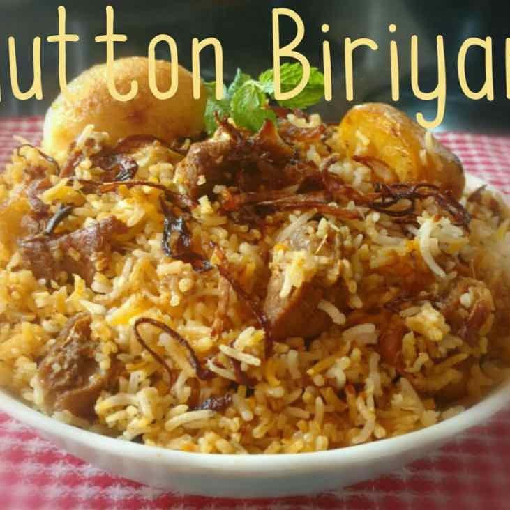 Photo of Mutton Dum Biriyani by Chinu's Kitchen Corner at BetterButter