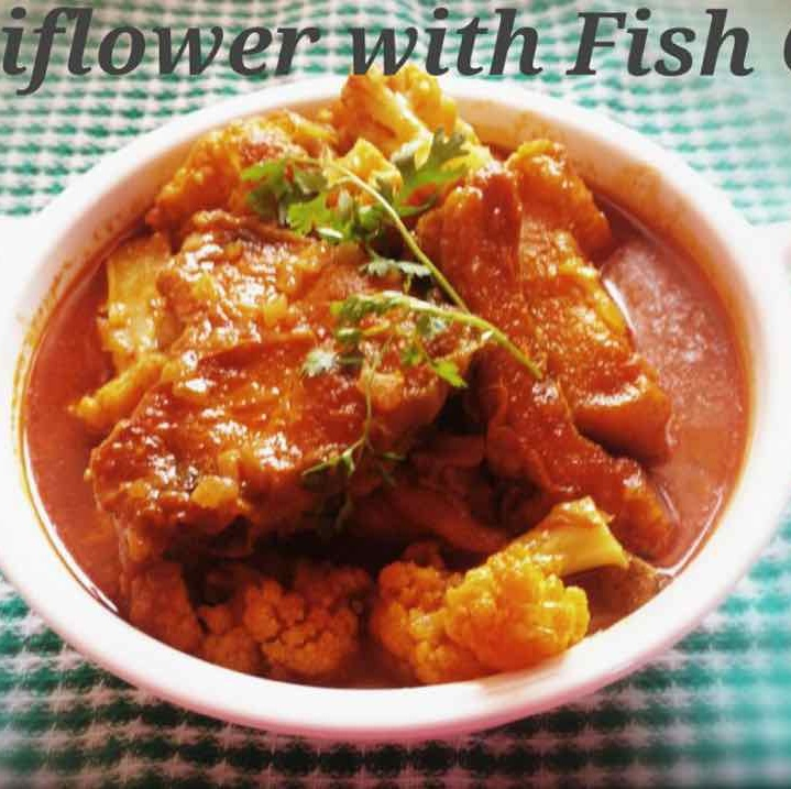 How to make Cauliflower with Fish Curry