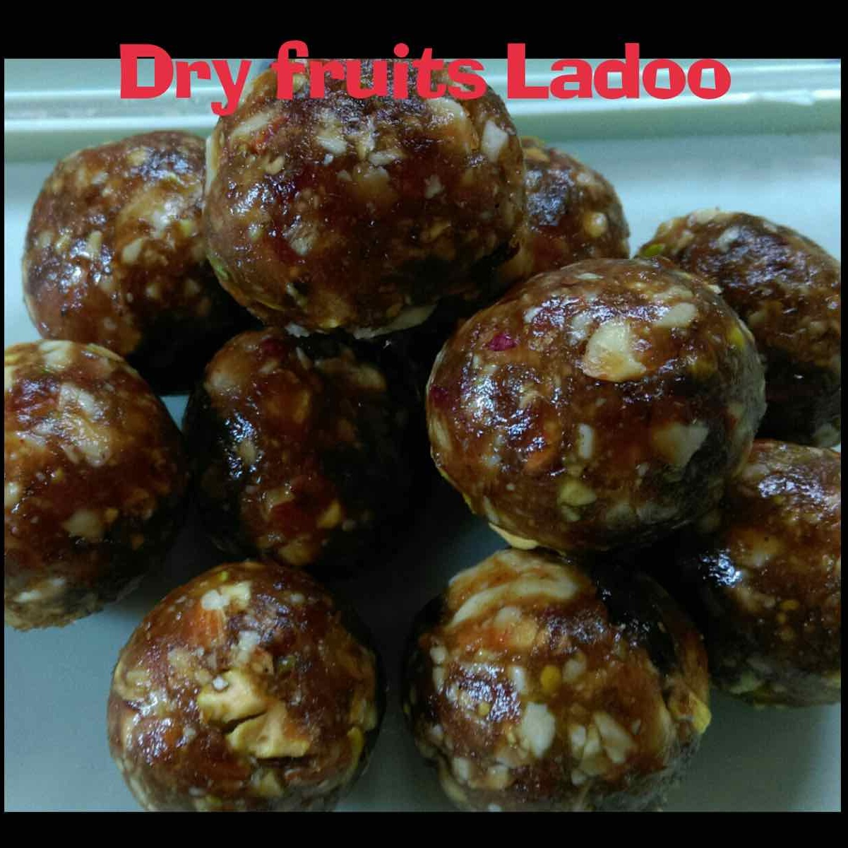 How to make Dry Fruits Ladoo