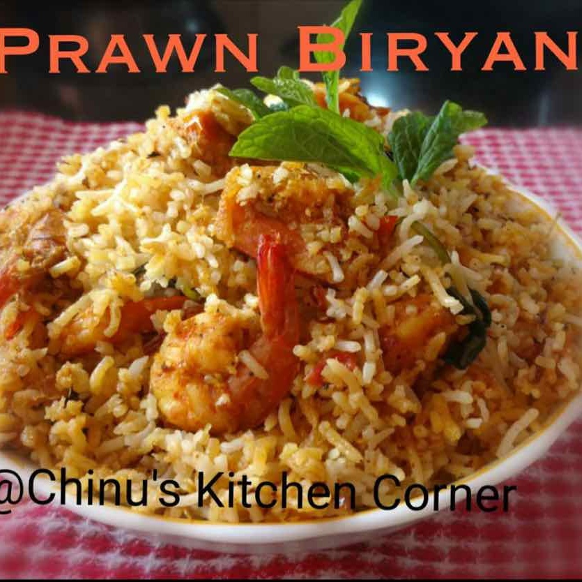 Photo of Prawn Biryani by Chinu's Kitchen Corner at BetterButter
