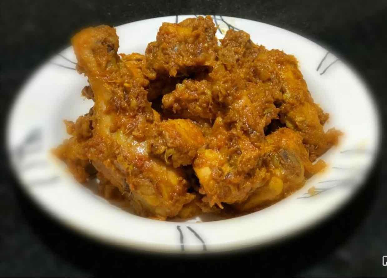 Photo of Spicy Garlic Chicken by Chinu's Kitchen Corner at BetterButter