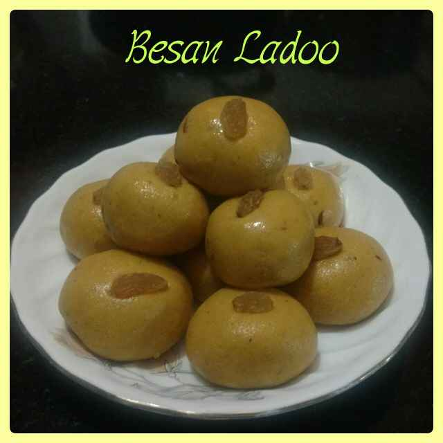 How to make Besan ke Ladoo