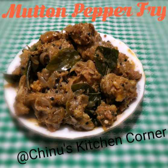 Photo of Mutton Pepper Fry by Chinu's Kitchen Corner at BetterButter