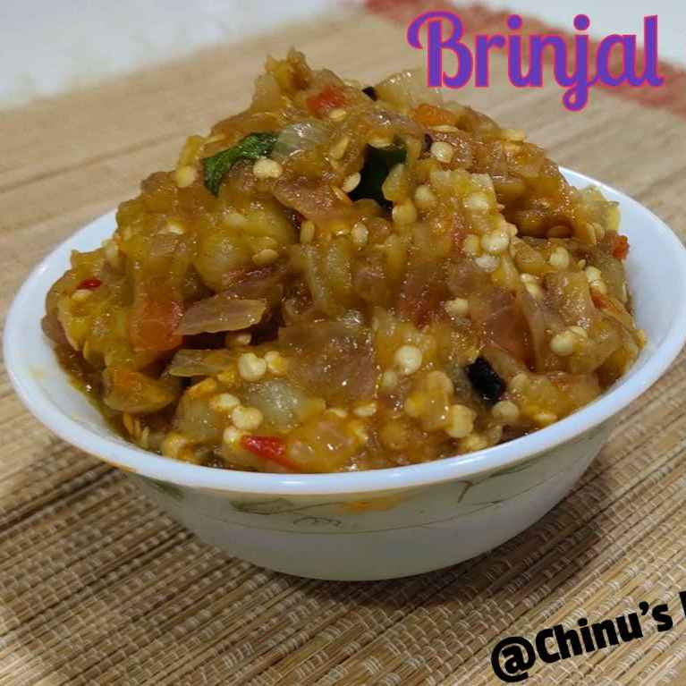 How to make Baingan Bharata/Burnt Brinjal Chutney