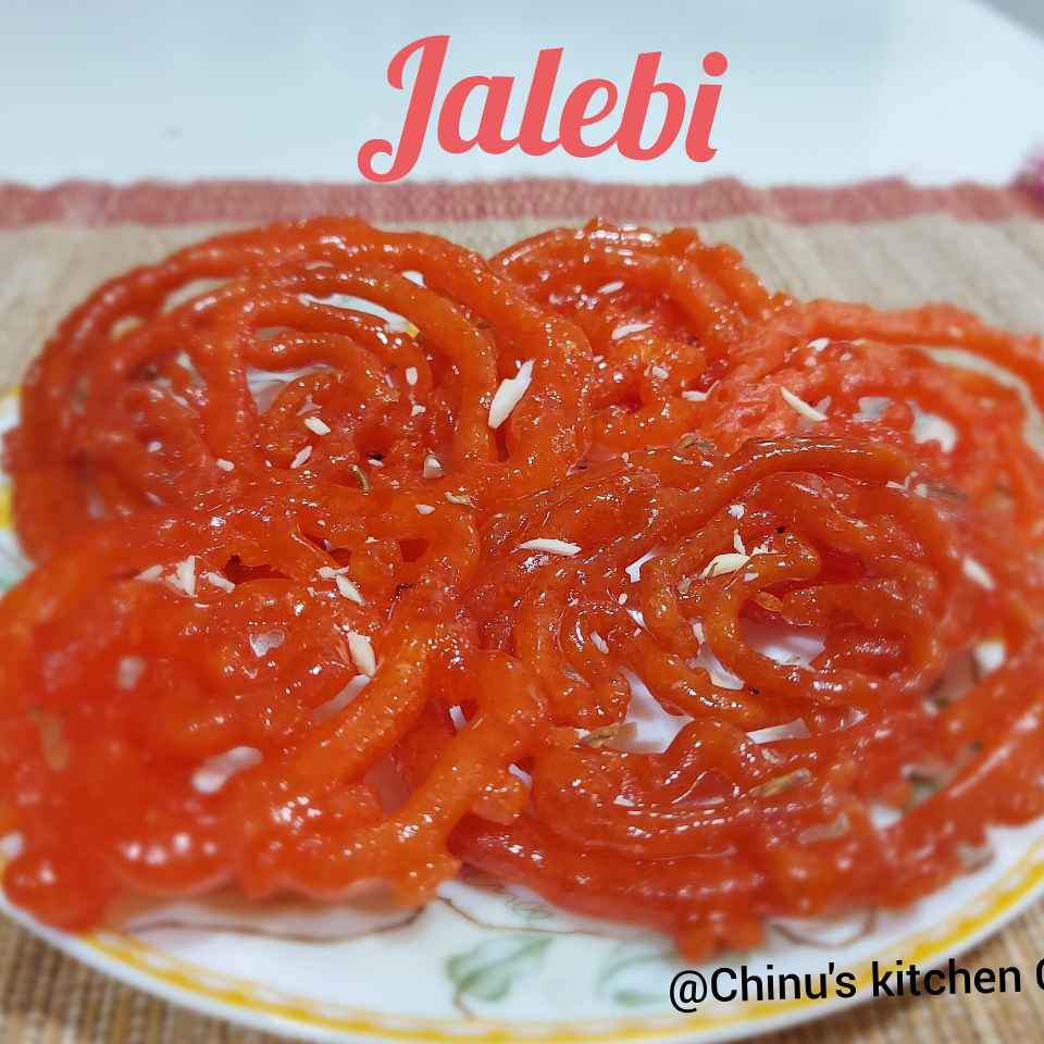 Photo of Instant Crispy Crunchy Jalebi by Chinu's Kitchen Corner at BetterButter
