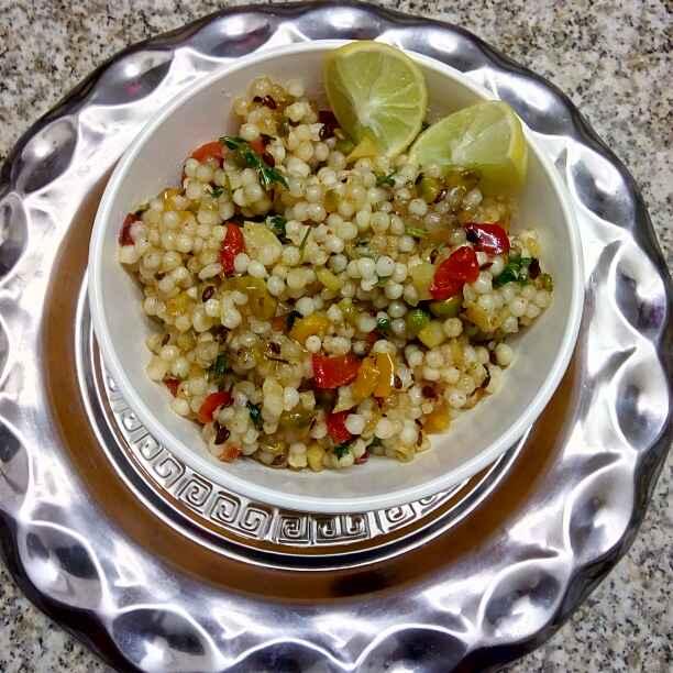 Photo of Vegetable  sabudana khichdi by Romil Vaswani at BetterButter