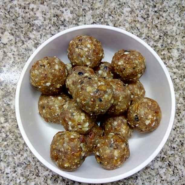 How to make Dry fruits khoya ladoo