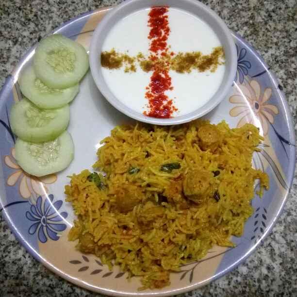 Photo of Soya chunks pulao by Romil Vaswani at BetterButter