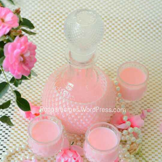 How to make Rose milk