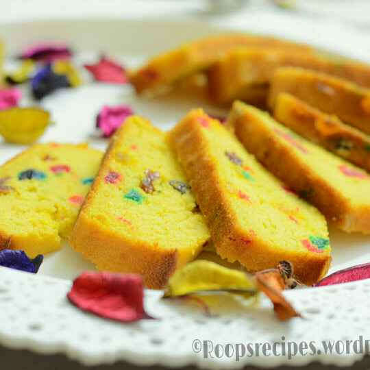 How to make Tutti Fruity cake