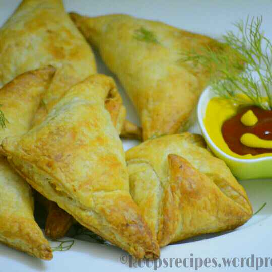 How to make Potato puff pastry