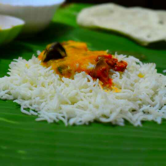 Photo of Daal Chawal with Tangy Mango Pickle by Roop Parashar at BetterButter
