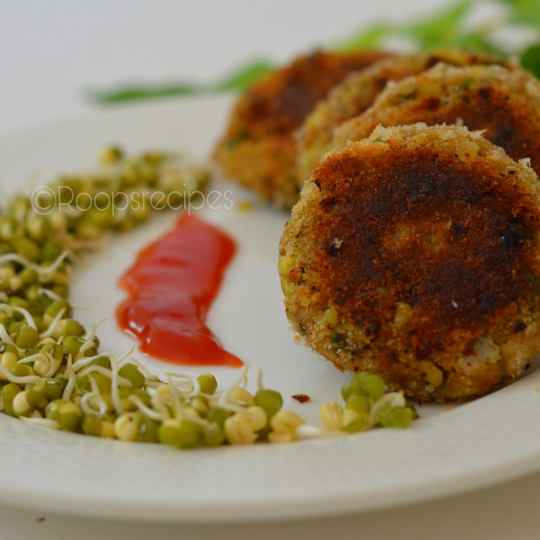 Photo of Sprouted Moong daal cutlets by Roop Parashar at BetterButter