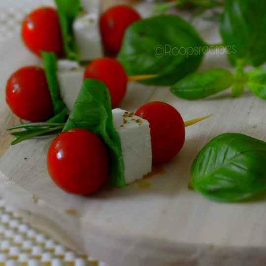 Photo of Tomato Mozzarella bites by Roop Parashar at BetterButter