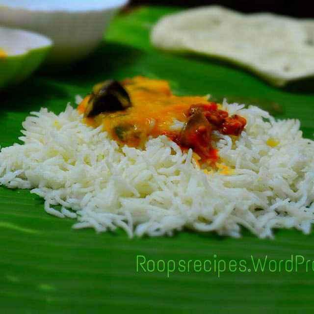 How to make दाल चावल (तीखे आम अचार के साथ)