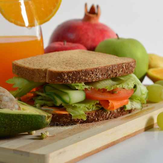 Photo of Avocado and sprouts sandwich by Roop Parashar at BetterButter