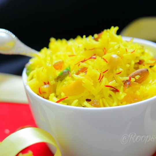 How to make Kesari meetha chawal
