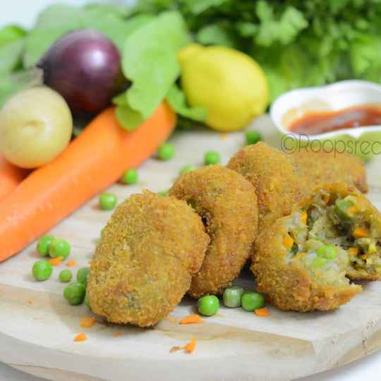 How to make Crunchy Vegetable Nuggets