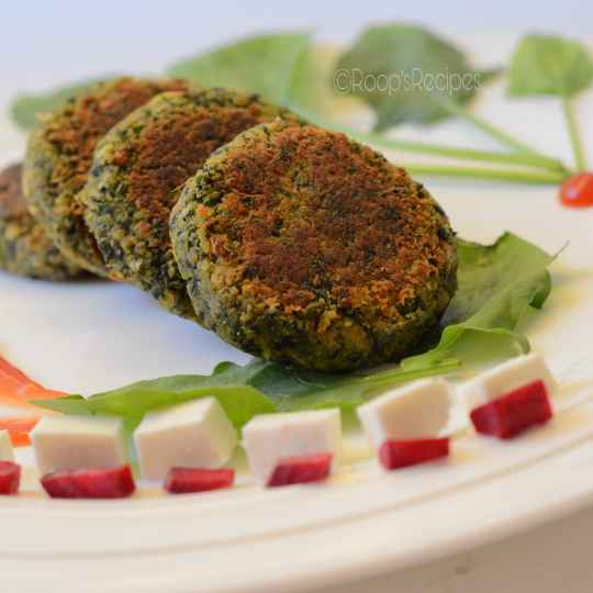 How to make Tasty And Healthy Spinach Tikki