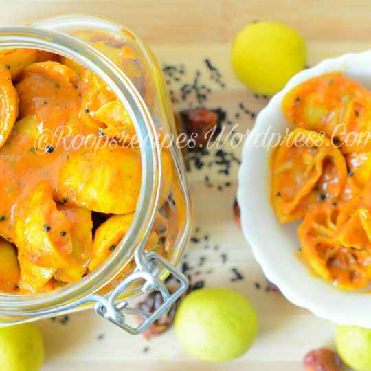 Photo of Instant lemon pickle by Roop Parashar at BetterButter