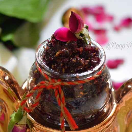 How to make Gulkand Or Rose Petal Jam