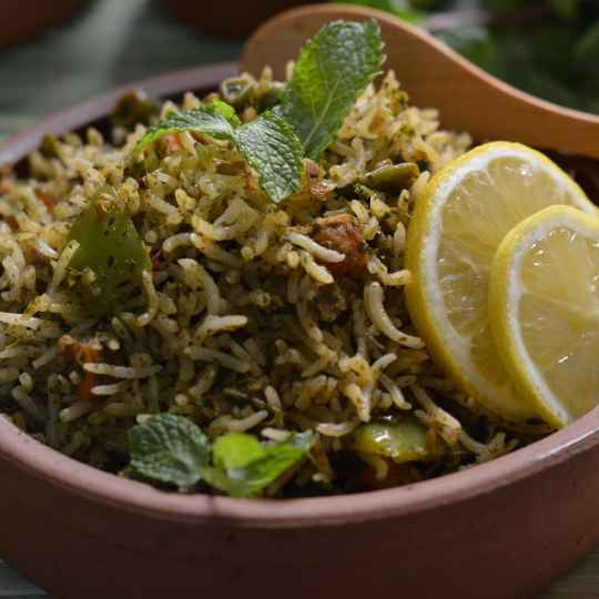 Photo of Mint Rice by Roop Parashar at BetterButter