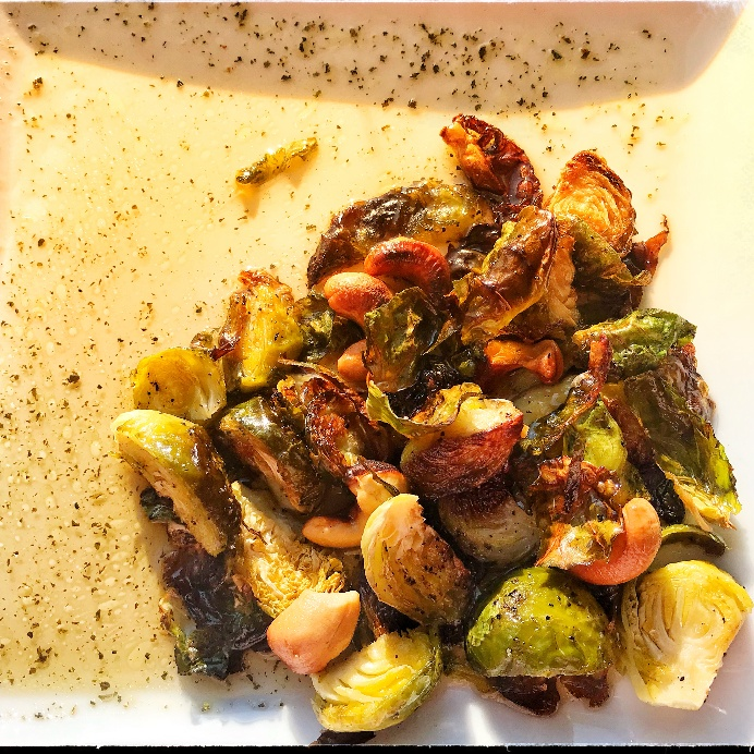 How to make Oven roasted brussel sprouts