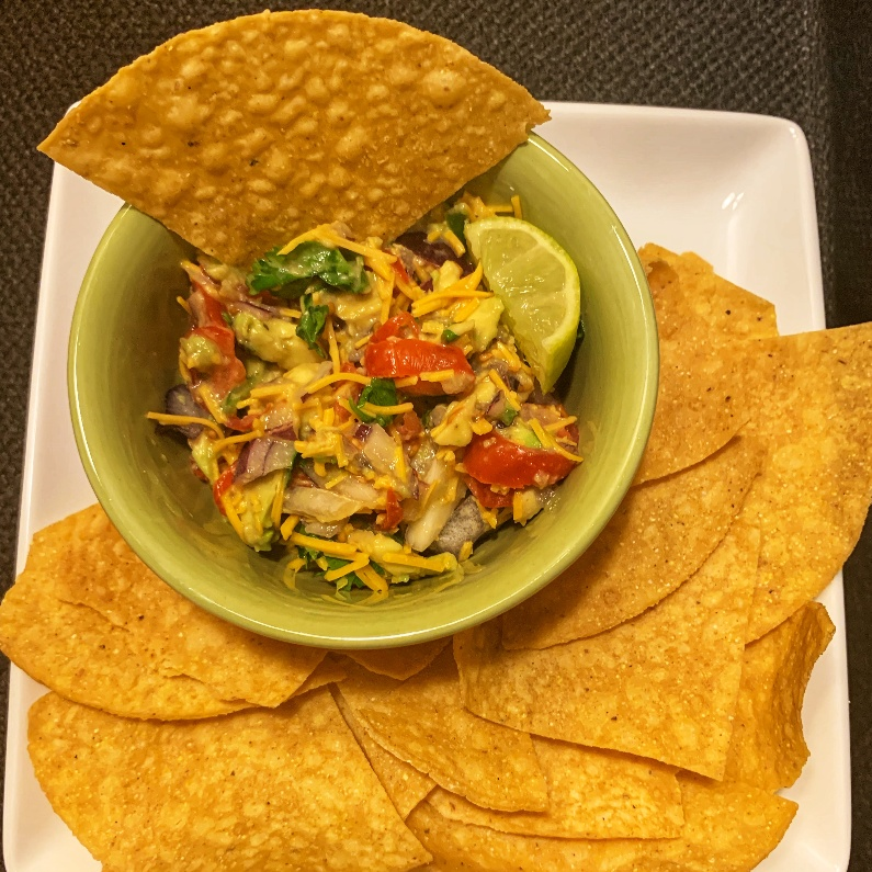 Photo of Guacamole chip and dip by Roopa R at BetterButter