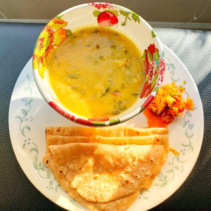 How to make Menthi Koora Pappu