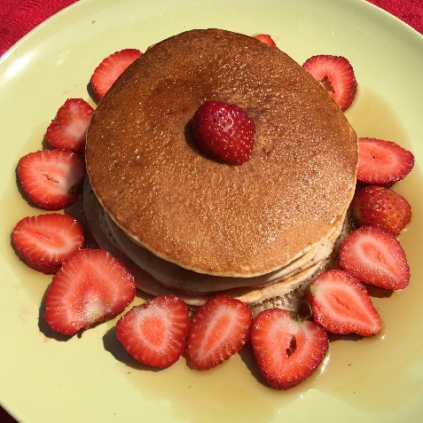 How to make Strawberry Pancakes
