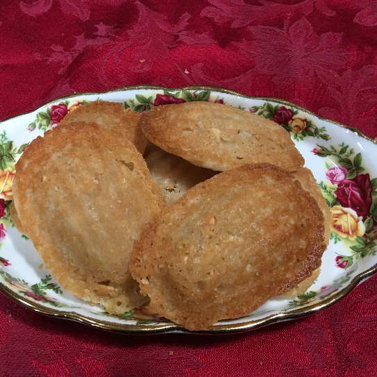 How to make Orange Blossom Madeleine Cookies